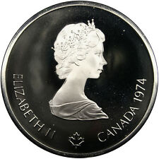 [#31430] CANADA, 10 Dollars, 1974, Royal Canadian Mint, KM #93, MS(63), Silver