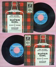LP 45 7'' GRAHAM BONNEY JOHNNY SCOTT Super girl Baby's gone germany no cd mc dvd