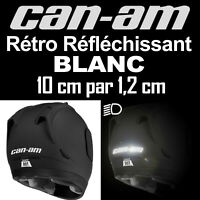 STICKER AUTOCOLLANT REFLECHISSANT CAN-AM CAN AM SPYDER BANDES REFLECHISSANTES