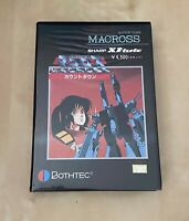Super rare Japan Import Original boxed complete CIB Sharp X1 game Macross tested