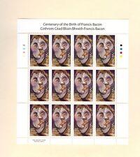Ireland, Centenary Of The Birth Of Francis Bacon Sheet, Artist.