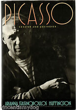 Picasso: Creator and Destroyer by Arianna Stassinopoulos Huffington (hardback)