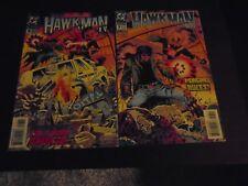 Hawkman lot 7 & 8 Mongrel written by Paul Kupperberg art Luke McDonnell DC Comic