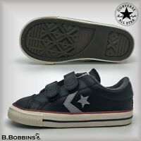Converse Size Infant UK 2 3 4 Star Player EV 2V OX Trainers Baby Boys