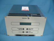 Varian Turbo-V 550 Turbo Pump Control Controller For Parts or Repair Powers Up
