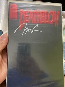 Deathblow #1 (Apr 1993, Image) Comic Signed By Jim Lee , Artist And Creator MINT