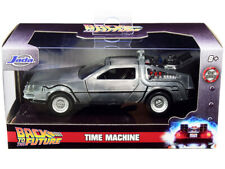 Delorean DMC Time Machine Back to The Future 1/32 Diecast Model Jada 32185