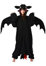 SAZAC Toothless The Dragon Kigurumi - Adult Costume From USA