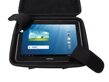 "Rigid Black Carry Case/Bag For Samsung Galaxy Tab 2 GT-P5110ZWAXSA 10.1"" Tablet"