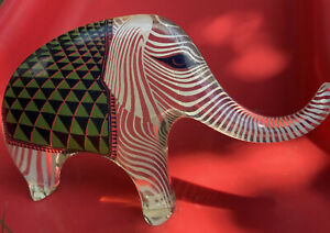 Abraham Palatnik Lucite Elephant Mid-Century Pop Art Sculpture