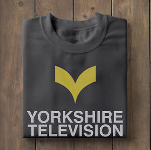 Yorkshire TV T-Shirt, retro TV Channel, 1970's, old TV Shows, British telly