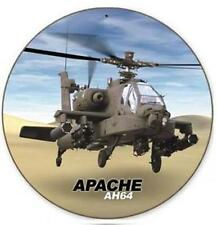Boeing AH-64 Apache Military Combat Helicopter Metal Sign Man Cave Garage V436