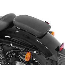 Sozius Saugnapf Sitz-Pad für Harley Dyna Wide Glide Notsitz Glider X schwarz