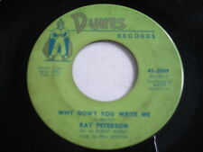 Ray Peterson Why Don't You Write Me / I Could Have Loved You So Well 1961 45rpm