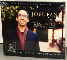 Reference Recordings CD RR-119: Joel Fan, piano - West of the Sun - 2009 USA SS
