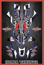 TRX 450R graphics sticker kit for Honda Quad SEMI CUSTOM GRAPHICS  CHECKS2