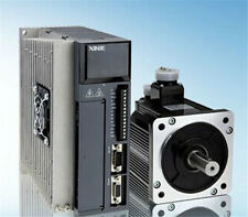 220V 0.75KW 750W 2.4N.m 3000rpm AC Servo Motor Drive kits  with 3M cable XINJE
