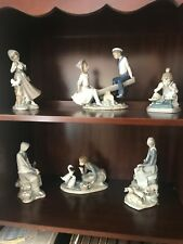 lladro collection- 16 pieces- Great Condition!