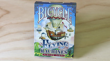 Flying Machines Bicycle Deck Playing Cards Uspcc Poker Size Magic Tricks Games