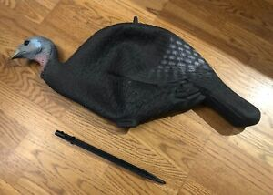 2004 Delta Hen Turkey Decoy Hunting HTF Discontinued Collapsible 3 Dimensional