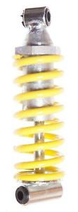 MOUNTAIN Bike/Cycle REAR FRS 150mm SHOCK SUSPENSION UNIT in YELLOW New
