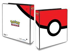 Ultra Pro - Pokemon Pokeball 2 Inch 3-Ring Album/Folder/Binder For Pokemon Cards