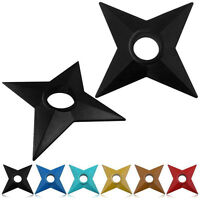 Cosplay Ninja Shuriken Plastic Duadrangle Ninja Darts Props Toys Gift