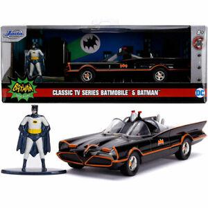 Jada Hollywood Rides 1966 Batman Classic Batmobile Diecast Model Car 1:32