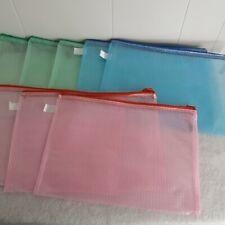 8X Pencil Pen Case Zipper Pouch Cosmetic Bag Storage Stationery Waterproof