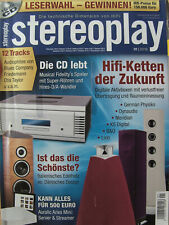 Stereoplay 1/16 Elac Debut F5, Opera Cyber 10, Pathos Inpol Remix, B&O BeoLab 20