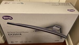 "BenQ XR Series EX3501R 35"" 3440 x 1440 Resolution 100Hz DisplayPort, 2x HDMI, US"