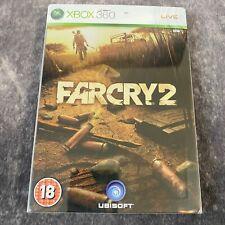 Far Cry 2 Steelbook Edition Xbox 360 PAL Spiel KOMPLETT + KARTE Action Shooter