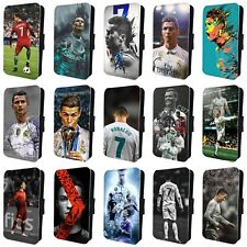 CRISTIANO RONALDO INCREDIBLE MADRID FLIP PHONE CASE COVER for iPHONE 4 5 6 7 8 X
