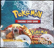 POKEMON Cards Booster BOX HS UNLEASHED x36 Packs ENGLISH NEW/SEALED Entei Raikou