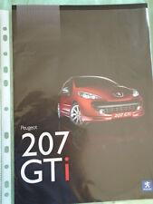 Peugeot 207 GTi brochure Jul 2007