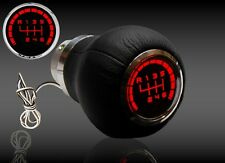 audi A3 A4 A5 A6   - SPEED SHIFT GEAR KNOB RED LED ILLUMINATED