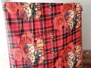 Animal Printed Bed Sheets Indian Handmade Bed Cover Flat Sheet Wall Decor