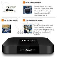 TX3 mini 4K S905W Quad Core CPU Android 7.1 TV 2.4GHz WiFi HD Media 2GB+16GB