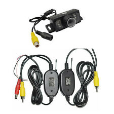 LCD Car Wireless Back Up Camera Kit Rear View Parking Night Vision2.4G HD Color