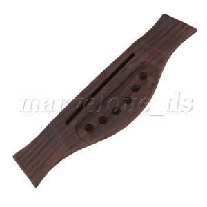 Rosewood Acoustic Classical Guitar Bridge 165mm for 6 String Pin 72mm Saddle