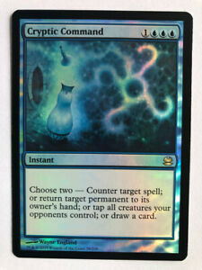 Mtg Magic the Gathering Modern Masters 2013 Ed Cryptic Command FOIL