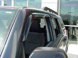 Tape-On Wind Deflectors: 2003-2009 Toyota 4Runner