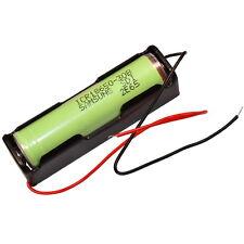 Batterie Support pour 18650 avec Fils Boîte en Plastique de Caisse Holder Case