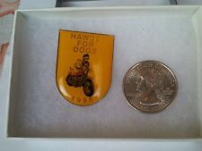 Hawgs For Dogs 1998 Motorcycle Biker Lapel Pin Auction Finds 702