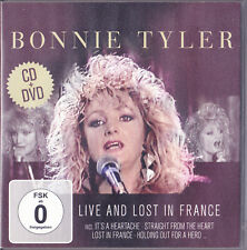 BONNIE TYLER.LIVE AND LOST IN FRANCE.CD+DVD.