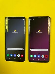 Samsung Galaxy S9+ Plus - 64GB SM-G965 (Unlocked) Gray Blue Purple - Choose Cond