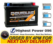 096 High Power Enduroline Calcium Car Battery - More Power than AGM and EFB