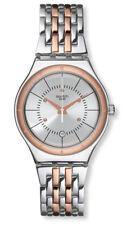 Swatch Irony Sedán Reloj YWS404G Análogico  Acero Inoxidable Rosado,Plata