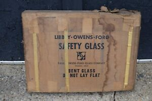 NOS 49-51 Chevy Pontiac Oldsmobile LEFT SIDE Sedan Glass Windshield
