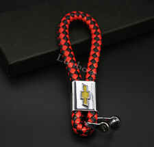 High Quality Key chains Car Logo Leather Key Ring Accessories For Chevrolet